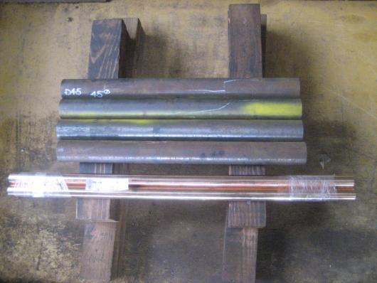 FCD450黒皮丸棒 直径45mm