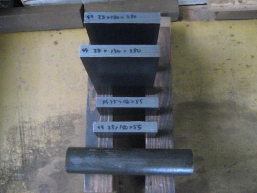 SS400 黒皮 平板