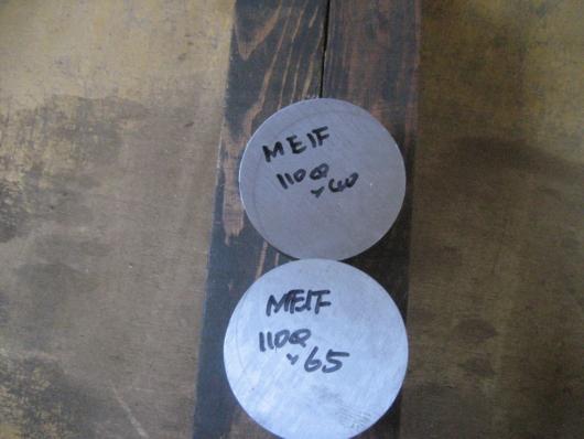 電磁純鉄ME1F黒皮