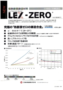 LEX-ZEROのカタログ